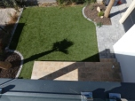 jardin vue terrasse