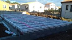 Plancher bas isoler + rupteurs thermique